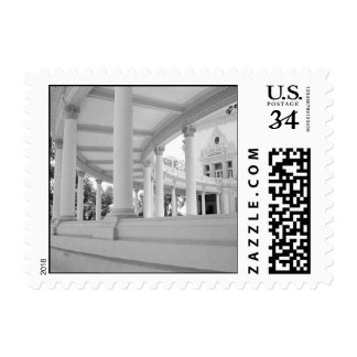 Vintage Curved Colonnade – Small Stamp