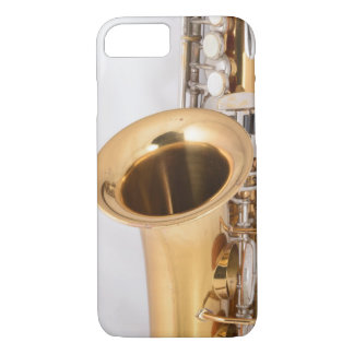 Vintage Curved Soprano Saxophone Phone Case