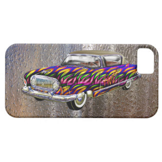 Vintage Custom 1955 Nash Abstract Fire Automobile iPhone SE/5/5s Case