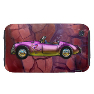 Vintage Custom 1961 MG MGA Twin Cam Roadster iPhone 3 Tough Case