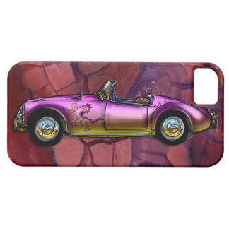 Vintage Custom 1961 MG MGA Twin Cam Roadster iPhone SE/5/5s Case