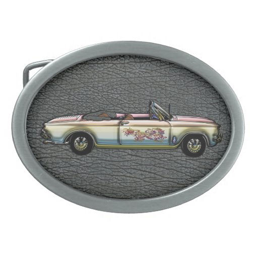 Vintage Custom 1964 Chevrolet Corvair 700 Converti Belt Buckles
