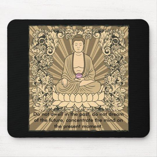 Vintage Custom Buddha Mouse Pad