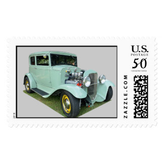 Vintage Customized Car Postage