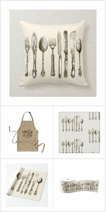 Vintage Cutlery Dining Set Collection