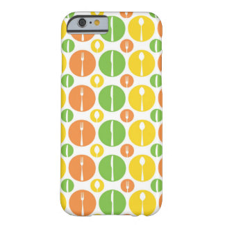 Vintage Cutlery Pattern Barely There iPhone 6 Case