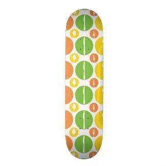 Vintage Cutlery Pattern Skateboard Deck