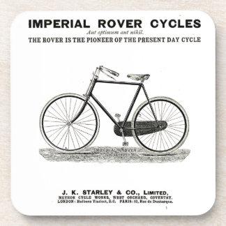 VINTAGE CYCLE ADVERT COASTER