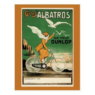 Vintage Cycles Albatros Postcard