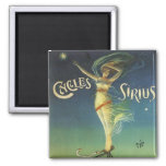 Vintage Cycles Sirius Bicycle Poster 2 Inch Square Magnet