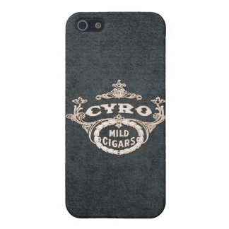Vintage Cyro Cigar Retro Ad Label iPhone SE/5/5s Case