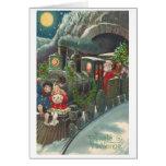 Vintage Czech Christmas Greeting Card