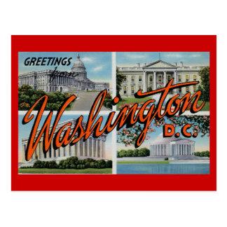 Vintage D C Post Card