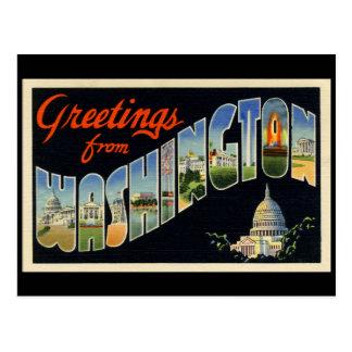 Vintage D.C. Postcard