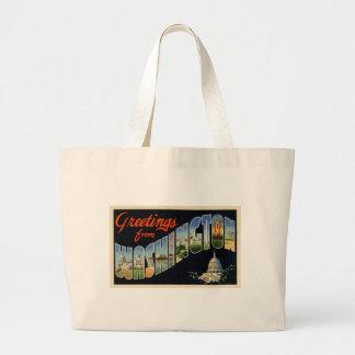 Vintage D.C. Postcard Bag