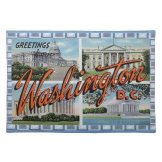 Vintage D.C. Postcard Placemat