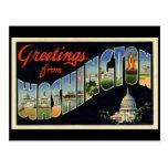 Vintage D.C. Postcard Postal
