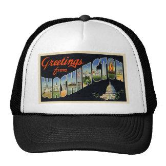 Vintage D.C. Postcard Trucker Hat
