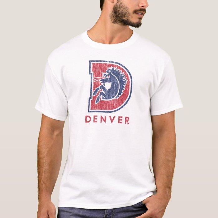 Vintage D Denver Logo T-Shirt
