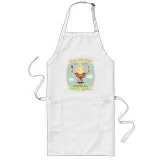 Vintage Dad BBQ Father's Day Apron