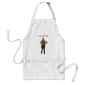Vintage Dad in Color and Distressed Adult Apron