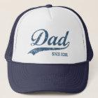 Vintage Dad Since [year] Trucker Hat
