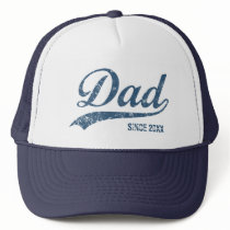 Vintage Dad Since [year] Trucker Hat