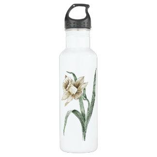 Vintage Daffodil Stainless Steel Water Bottle