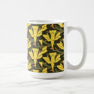 Vintage Daffodils Coffee Mug