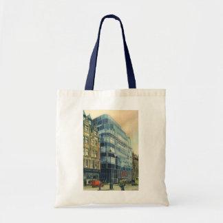 Vintage Daily Express Building on Fleet Street Tote Bag