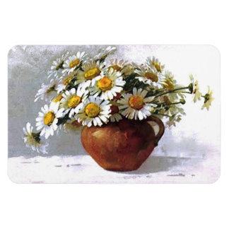 Vintage Daisy Floral Bouquet Premium Flexi Magnet