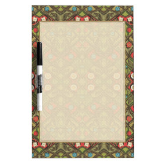 Vintage Daisy Floral Dry-Erase Whiteboards