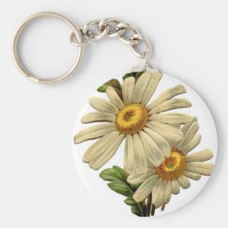 Vintage Daisy Key Chains