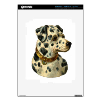 Vintage Dalmation Decals For iPad 3