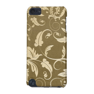 Vintage Damask Antique Gold Leaves Speck iPod Case iPod Touch (5th Generation) Cover