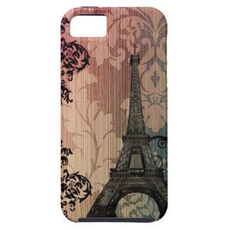 vintage damask Bohemian Chic Paris Eiffel Tower iPhone SE/5/5s Case