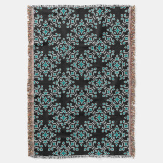 Brocade Home Decor vintage brocade home decor throw blankets | zazzle