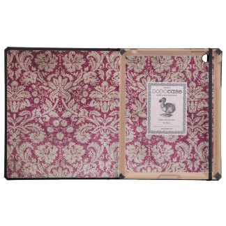 Vintage Damask Burgundy Covers For iPad