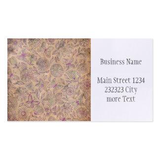 Vintage Damask Business Card