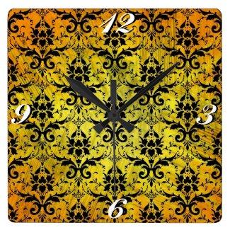 Vintage Damask, Clock