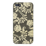 Vintage Damask, Floral and Abstract Mugs, Gifts iPhone 5 Case