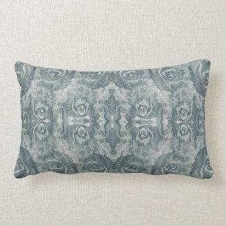 Vintage Damask Floral Pattern Light Green - Pillow
