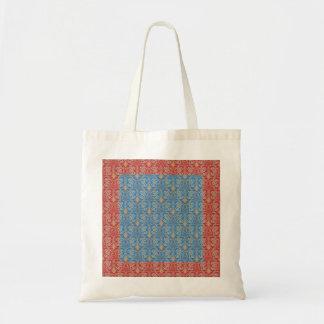 Vintage damask pattern bag
