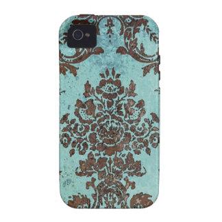 Vintage Damask Pattern iPhone 4 Cases