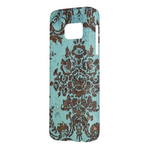 Vintage Damask Pattern Phone Case