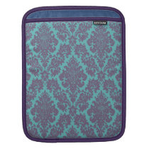 Vintage damask pattern iPad case