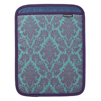 Vintage damask pattern iPad case