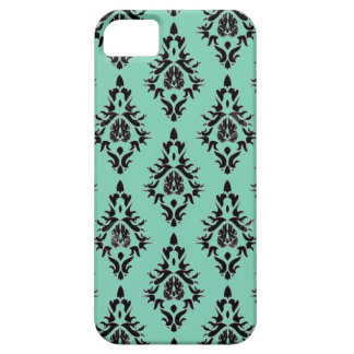 Vintage Damask Phone Case Shown in iPhone 5 Cases