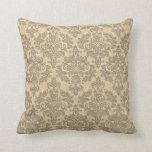 Vintage Damask Pillows