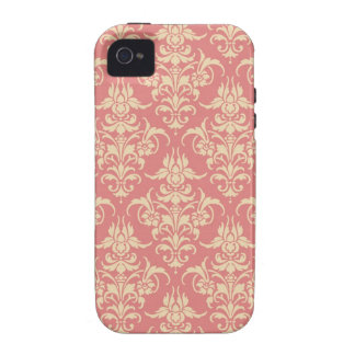 Vintage Damask Vibe iPhone 4 Cover